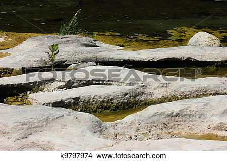 Stock Photo of Old Creek Bed k9797974.