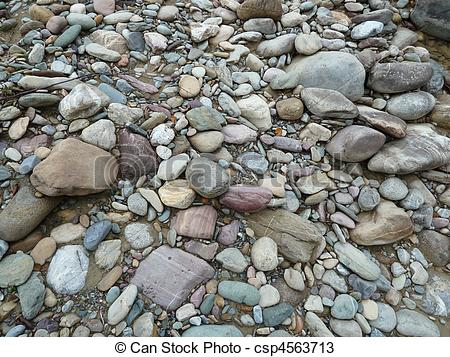 Stock Photos of Creek Bed Rocks.