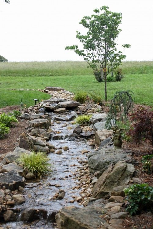 How to Install a Dry Creek Bed.