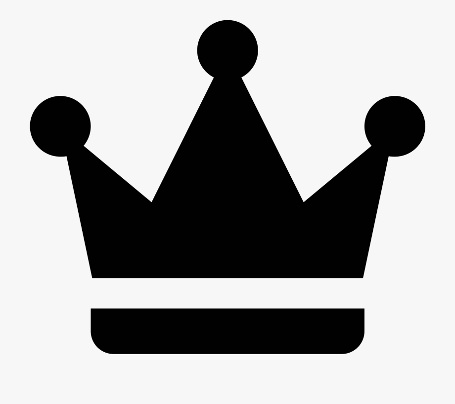 Crown Clipart Icon.