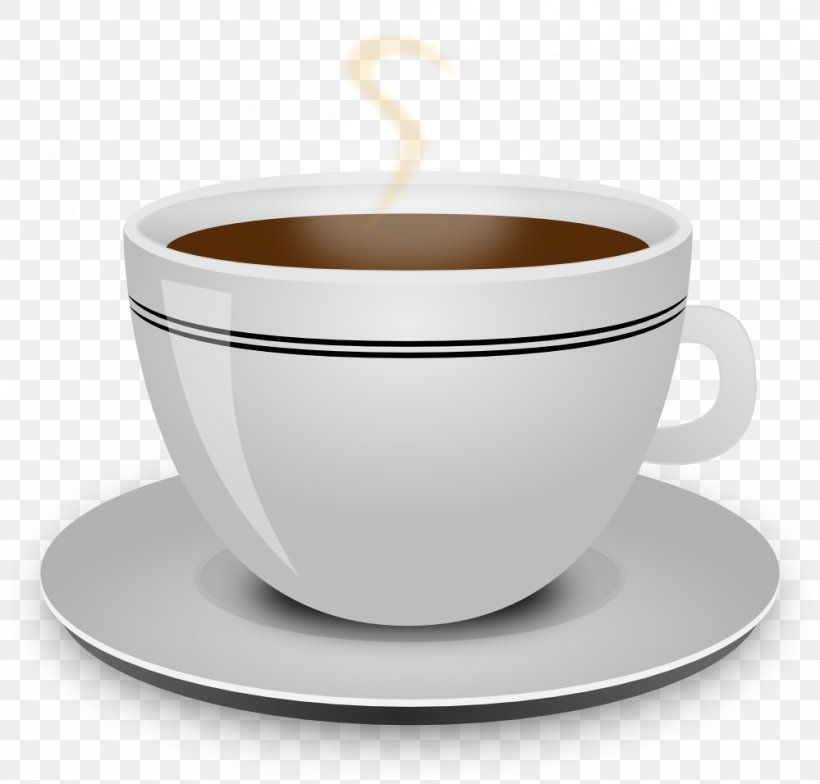 Coffee Cup Tea Clip Art, PNG, 999x956px, Coffee, Bowl, Cafe.