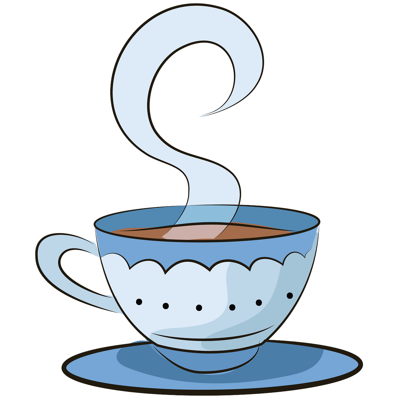Cup of tea clipart. Free download..