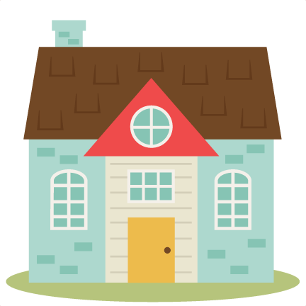 Cute House Clipart Png.