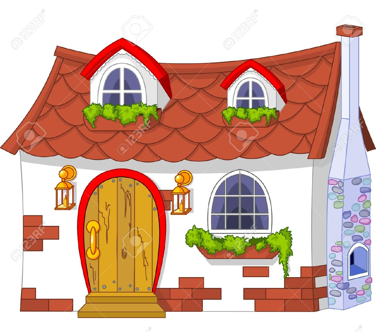 Cute house clipart 7 » Clipart Station.