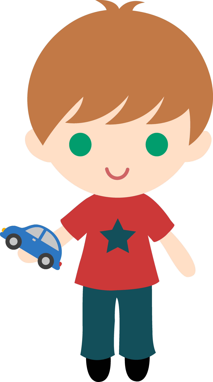 Cute Little Boy Clipart.
