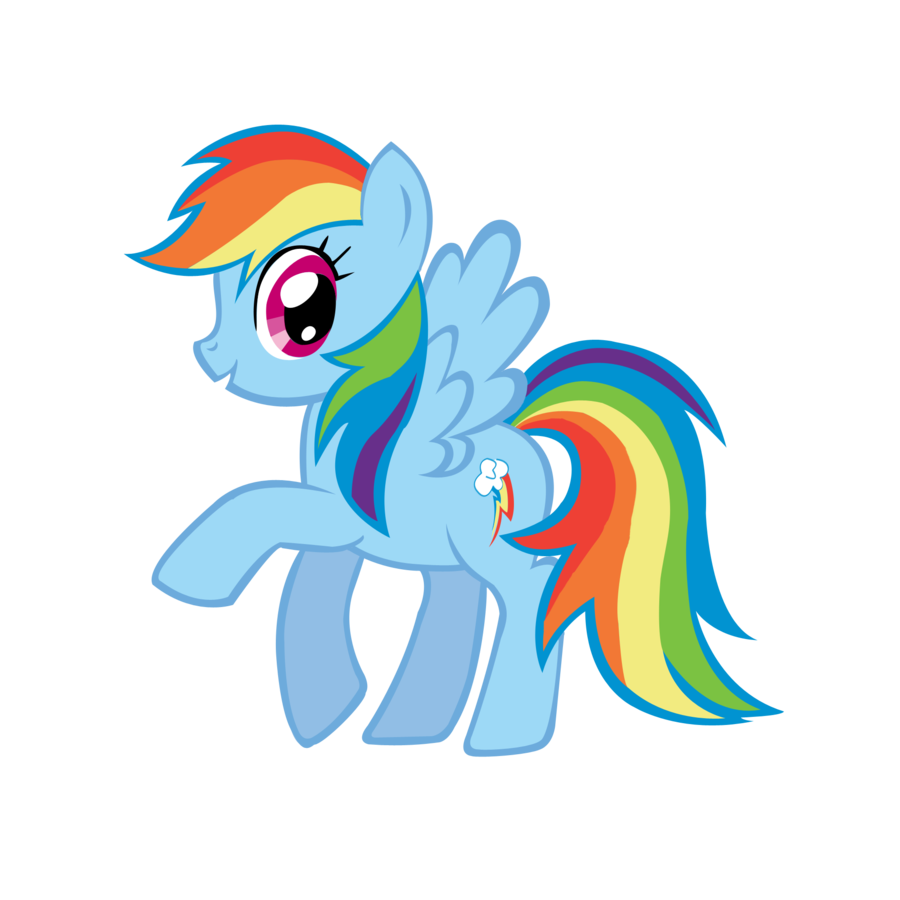 Rainbow Dash Clipart.