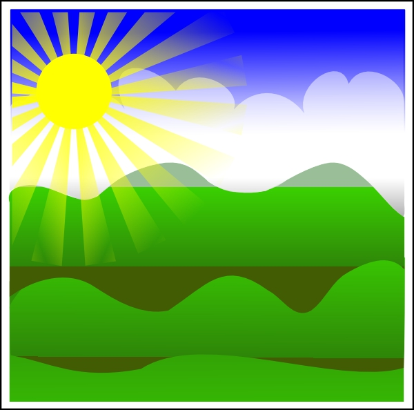 Sunny Day Clipart#2035092.