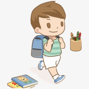 First Day Of School Image Clipart , Transparent Cartoon.