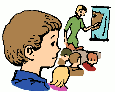 Free First Day of School Clipart.