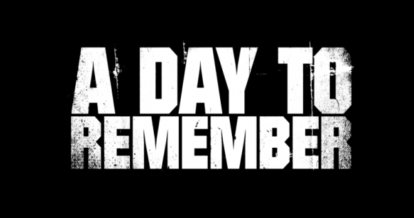 A Day to Remember Logo Font.