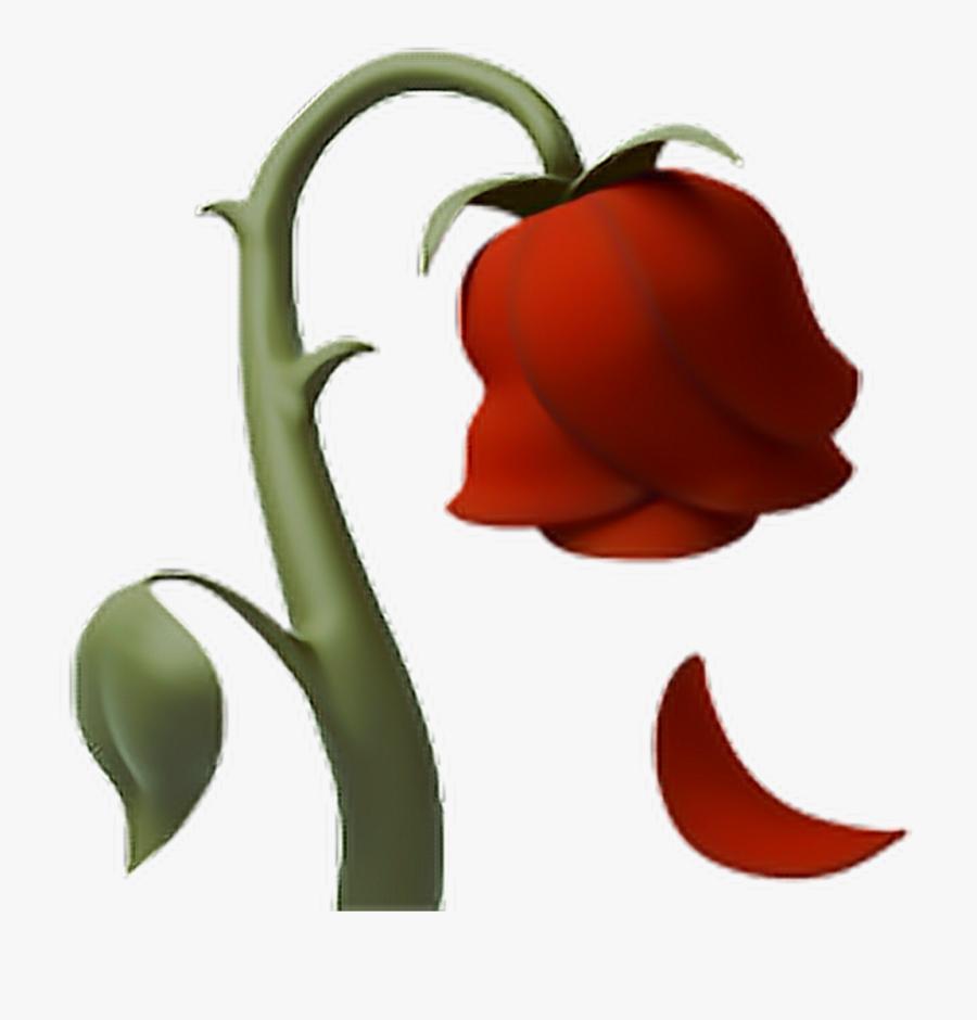 Rose Deadrose Flower Emoji Iphone.
