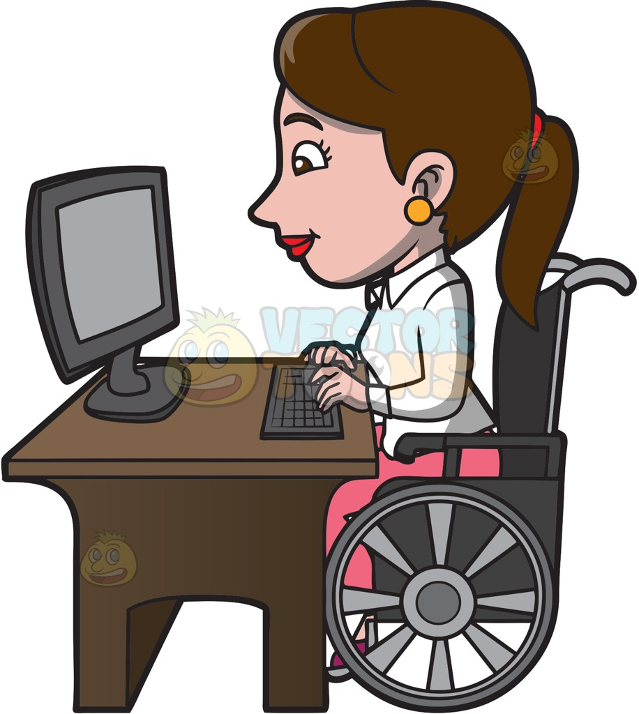 Collection of free Cribbled clipart disability person. Download on UI Ex.
