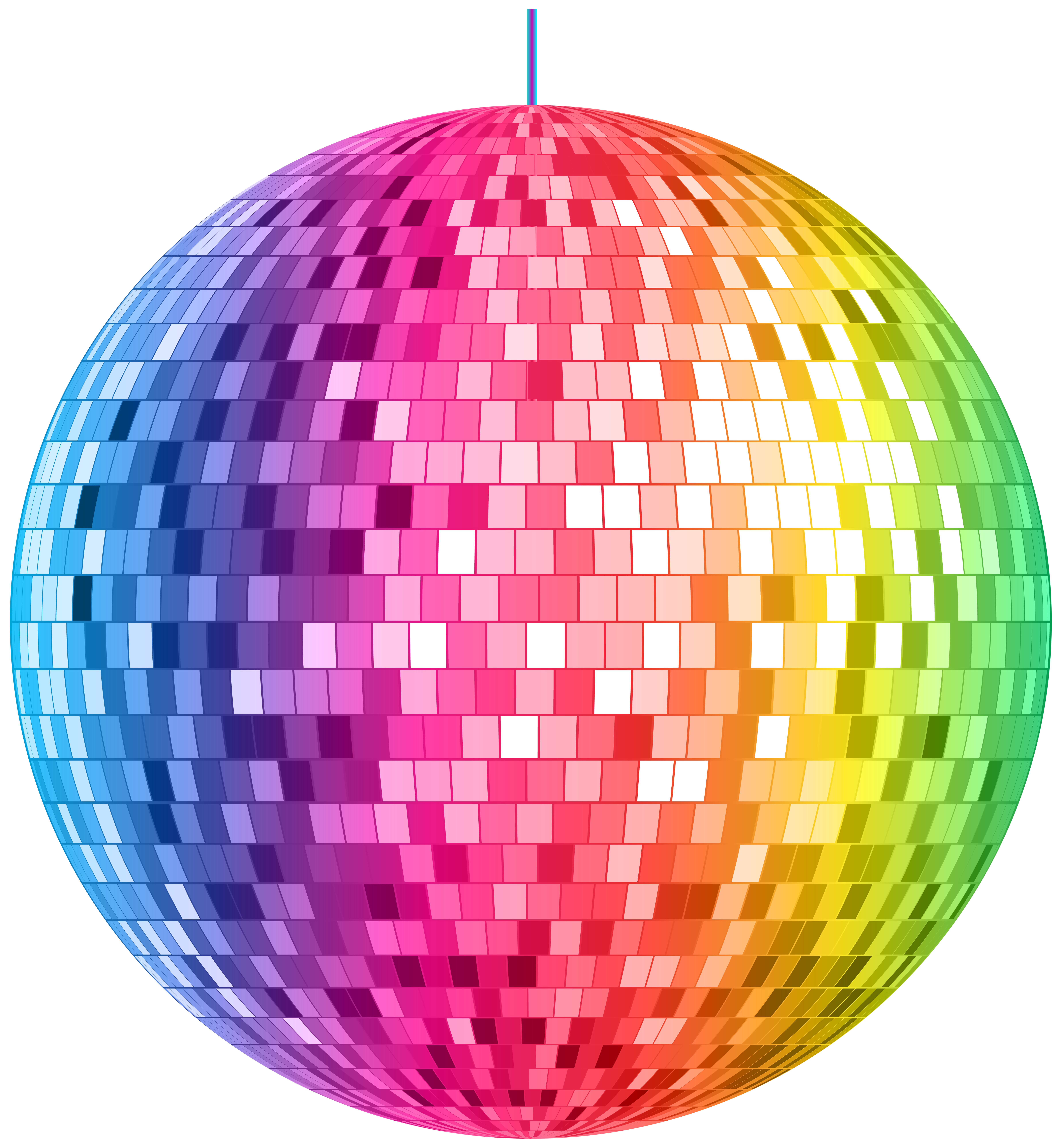 Disco Ball PNG Clipart.