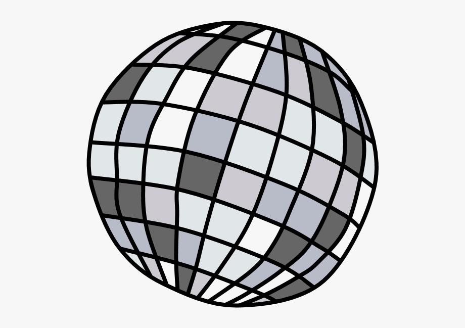 Disco Ball Clipart Silver.
