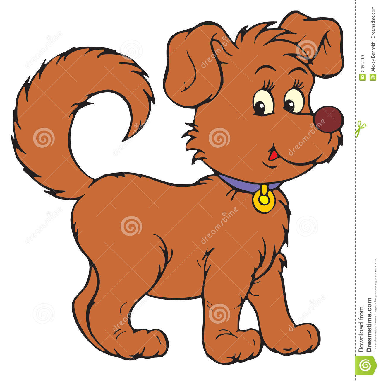 Picture of a dog clipart 3 » Clipart Station.
