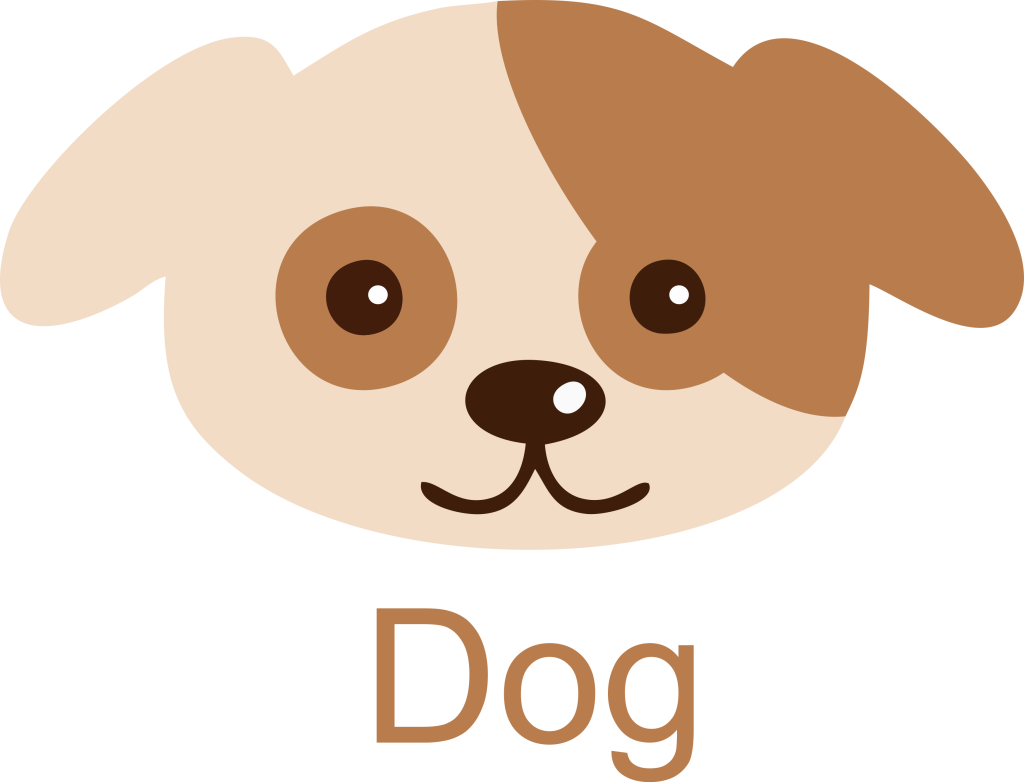Dog Face Icon Clipart Free.
