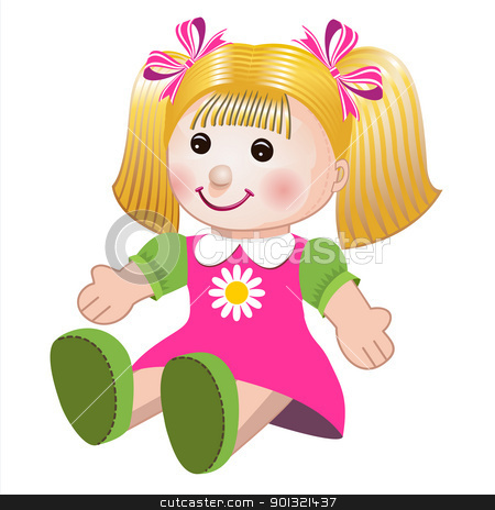 A Doll Clipart.