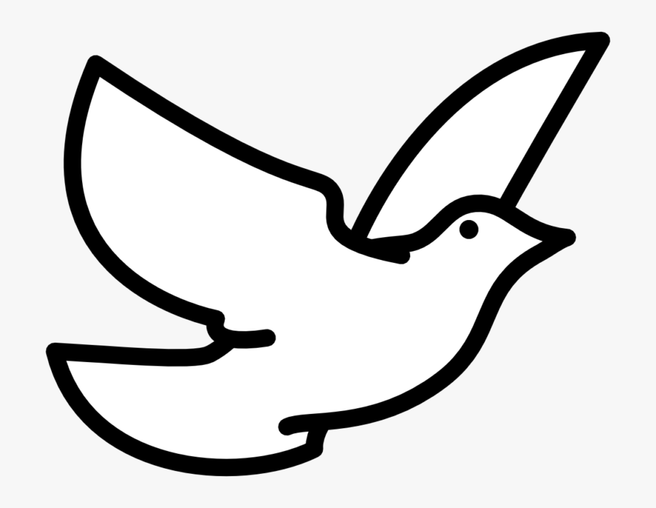 Free Dove Clipart Images Black And White Photos.