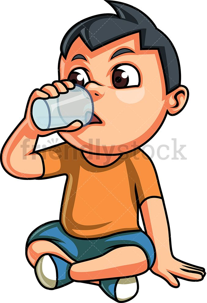 Kid Drinking Water in 2019.