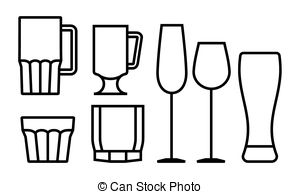 11887 Glass free clipart.