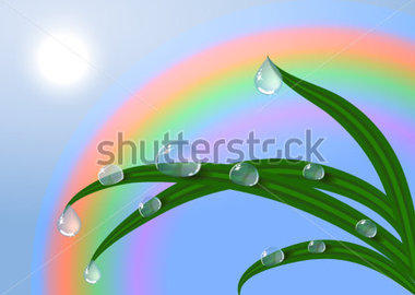 Dew drop clipart.