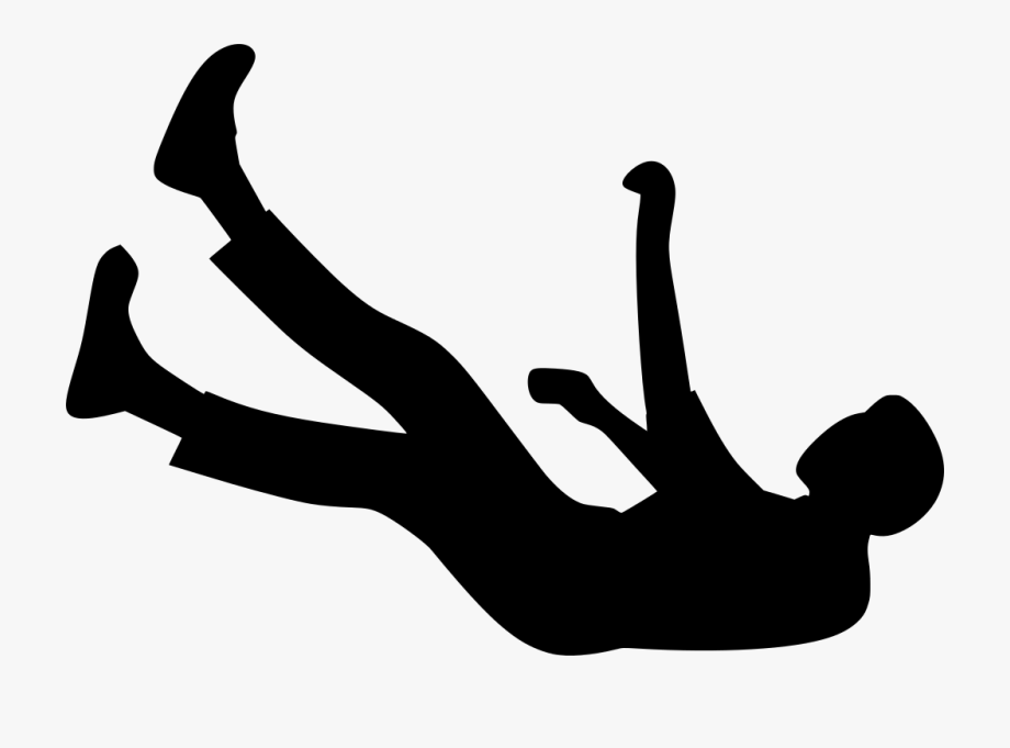 Man Falling Transparent Background Clipart , Png Download.
