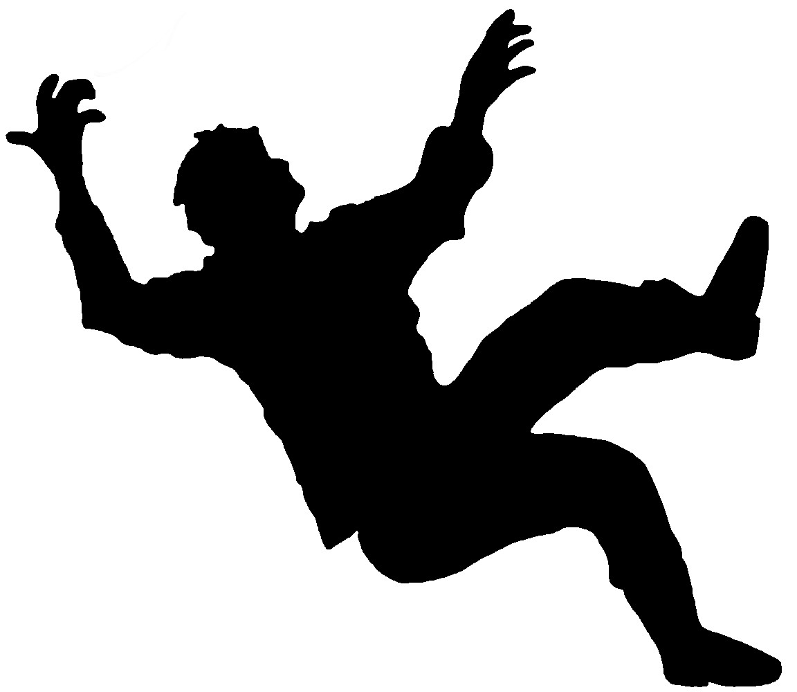Free Falling Person Silhouette, Download Free Clip Art, Free.