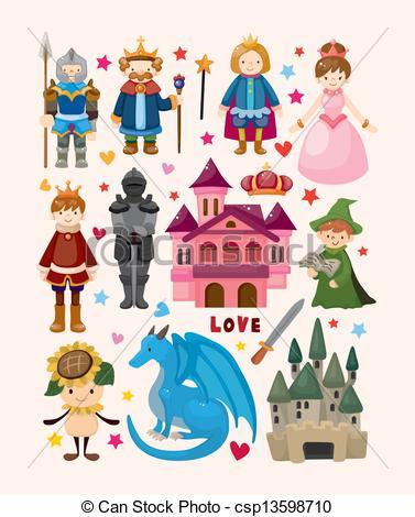 Fairy tale clipart free.