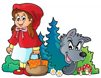 Clipart fairy tale characters.