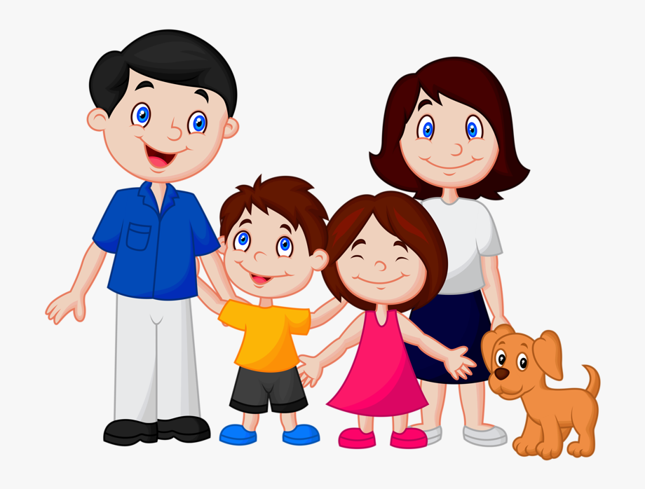 Happy Family Clipart Png.