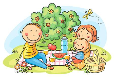 Family picnic clipart 5 » Clipart Station.