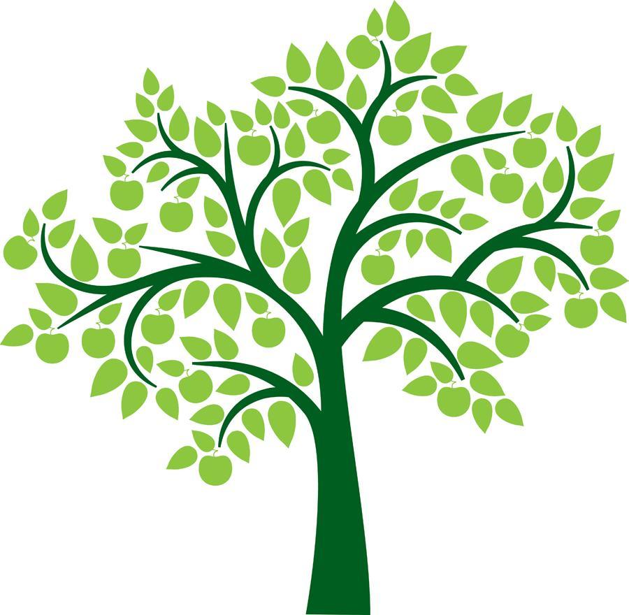 Family Reunion Tree Clipart.