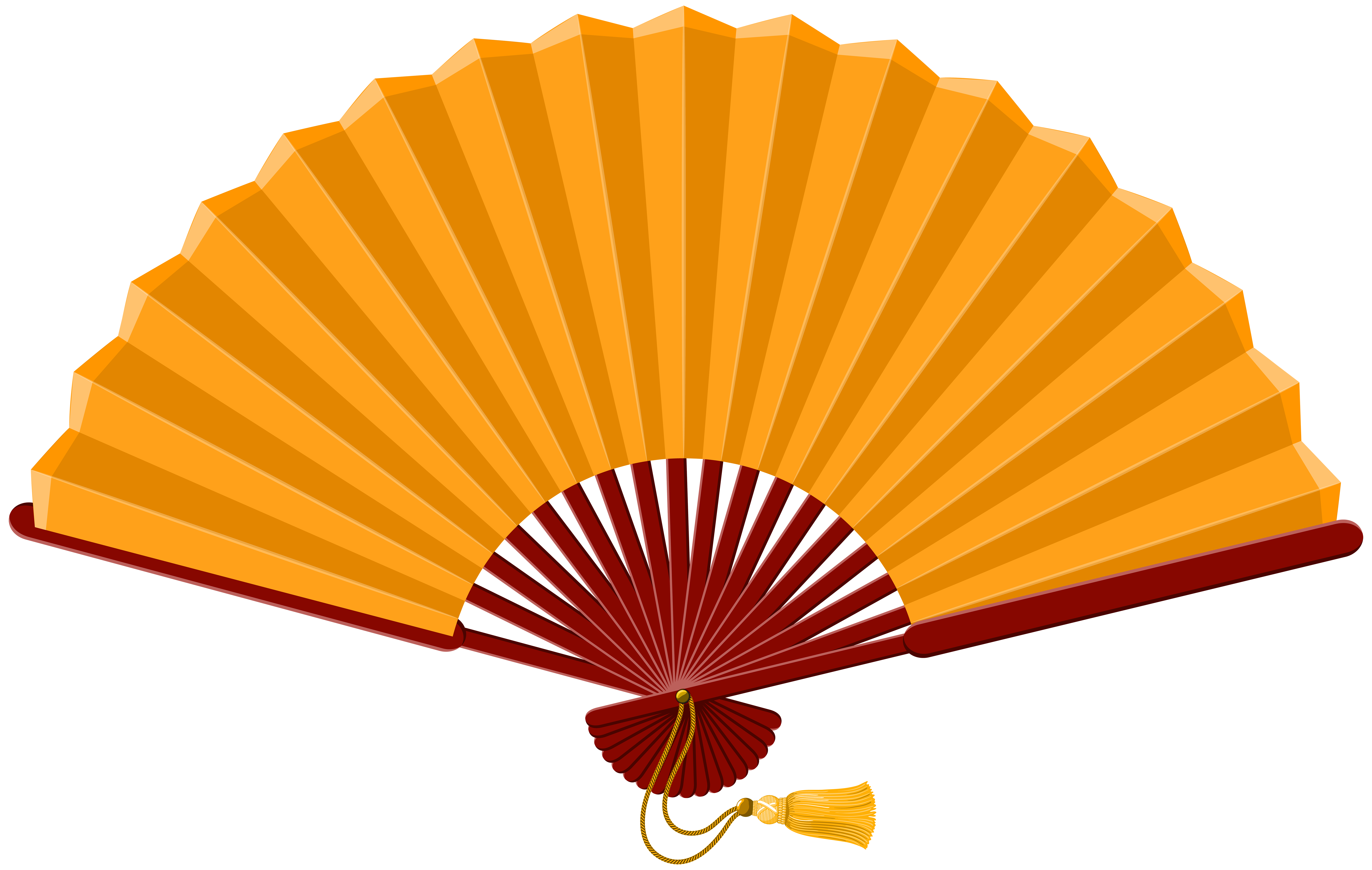 Chinese Fan PNG Clip Art.
