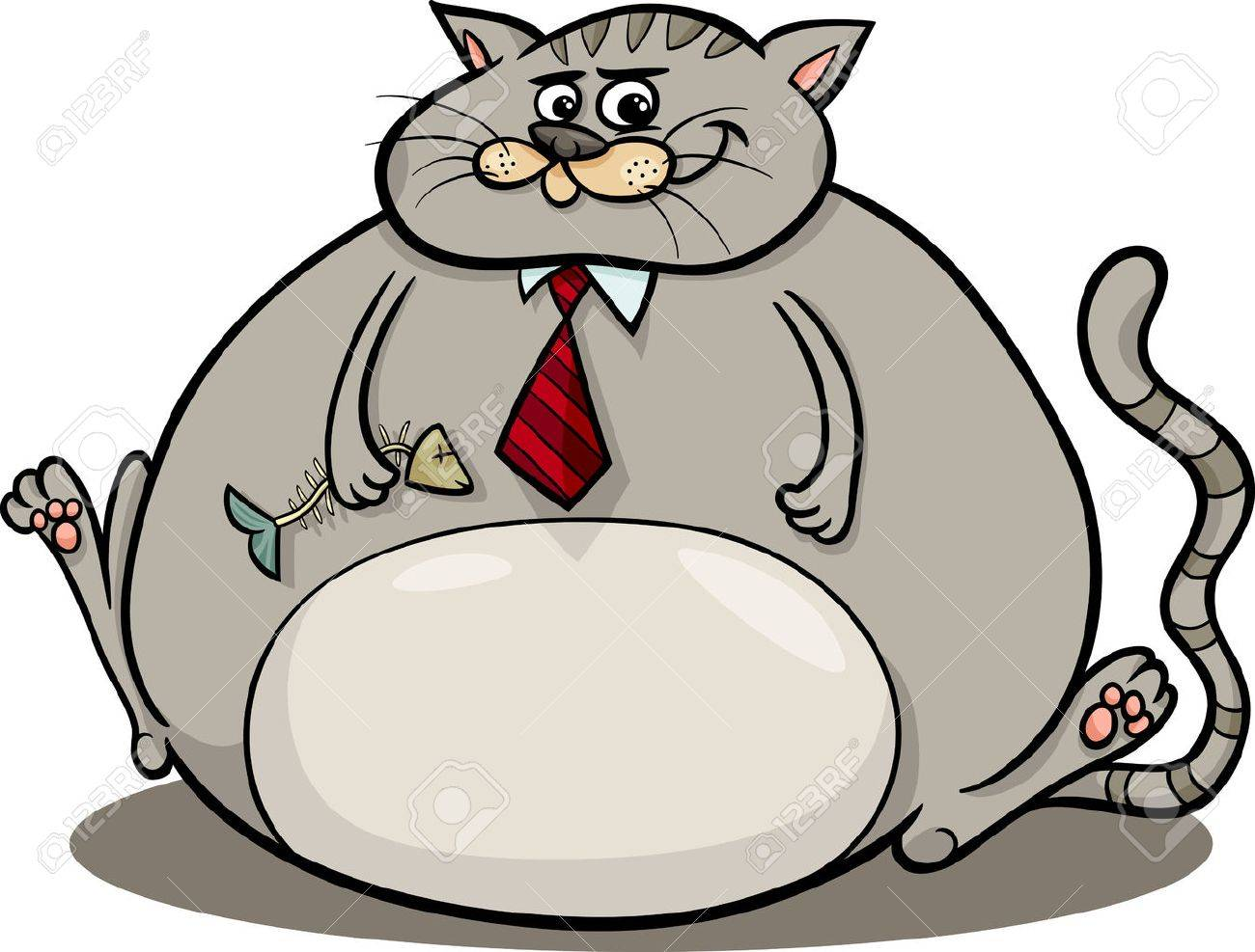 Fat cat clipart 3 » Clipart Station.