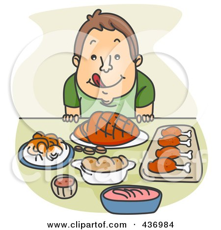Royalty Free Feast Illustrations by BNP Design Studio Page 1.