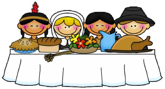 Feast Table Clipart.