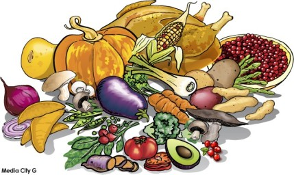 Feasting Clipart.