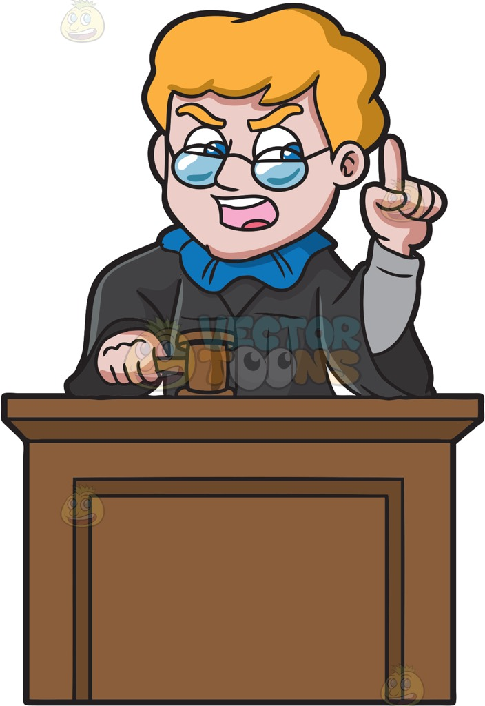 Judge clipart female judge, Judge female judge Transparent.