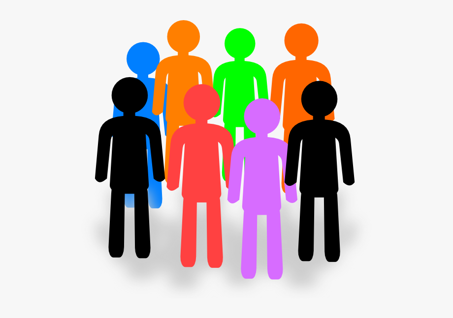 Clip Art Group Of People Clipart Kid.
