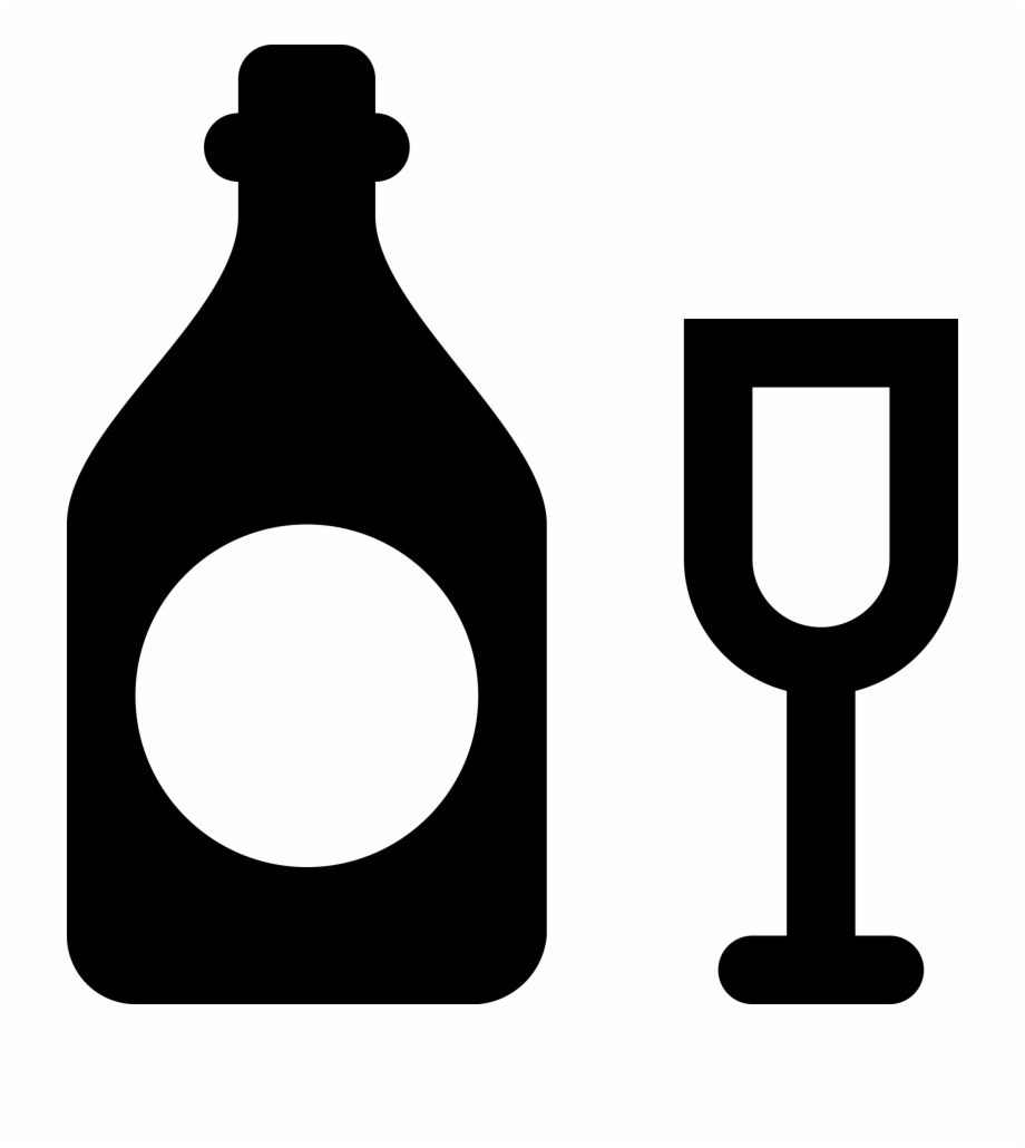 Banner Royalty Free Download Alcohol Vector Icon.