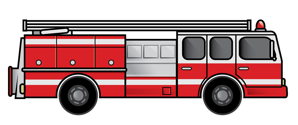 Fire truck fire engine clipart image cartoon firetruck creating 5.
