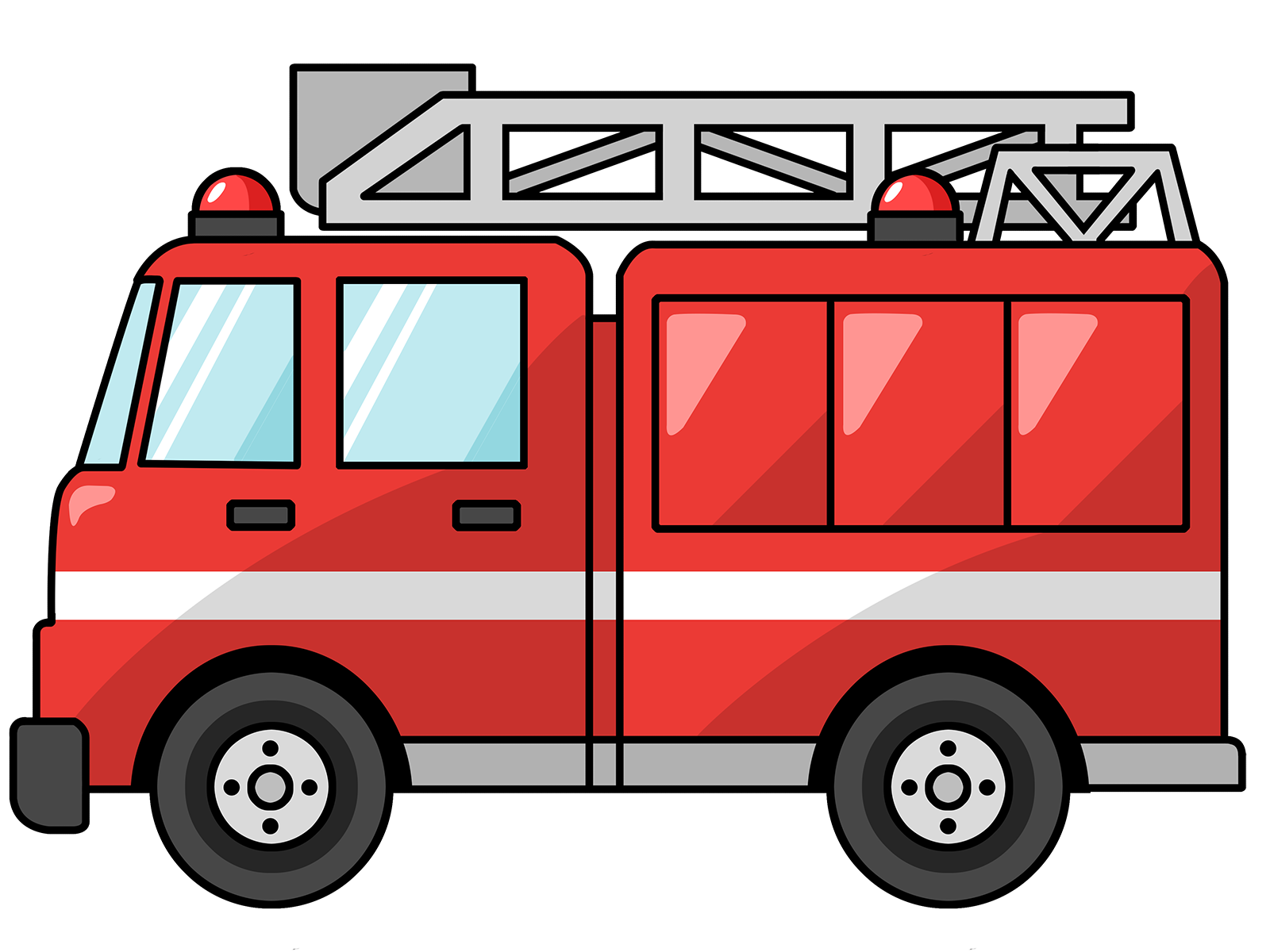 Free to Use & Public Domain Fire Truck Clip Art.