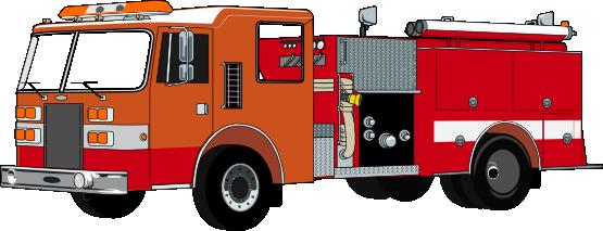 A fire truck clipart #1