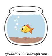 Fish Bowl Clip Art.
