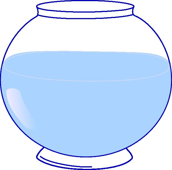 592 Fish Bowl free clipart.