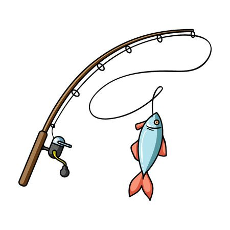 567 Fishing Pole free clipart.