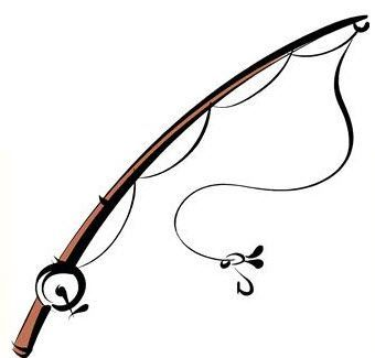 Fishing Rod Clip Art Rod clipart.