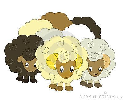 Cute Lamb Clipart. Gallery Of Sheep With A Beige Face Clip.