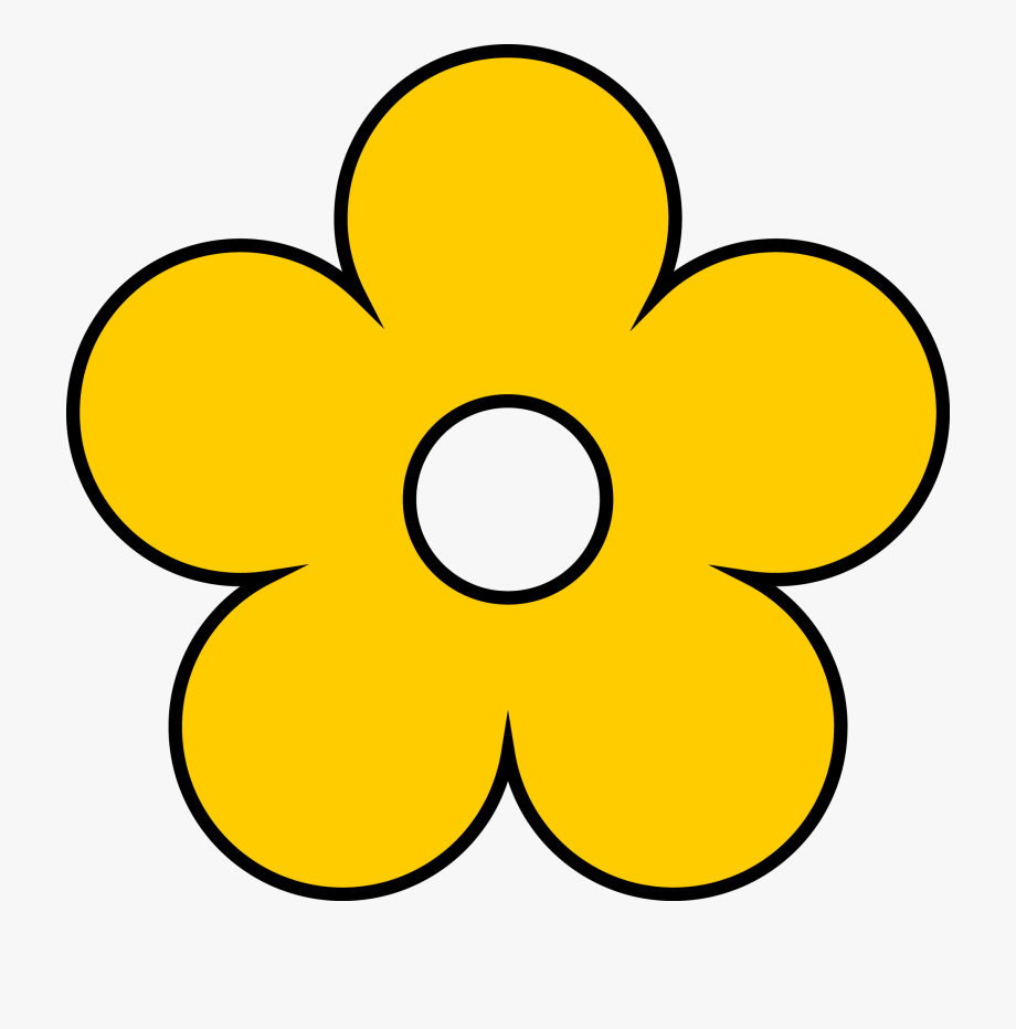 Yellow Flowers Clipart Image Collections.
