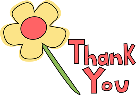 Thank You Flower Image.